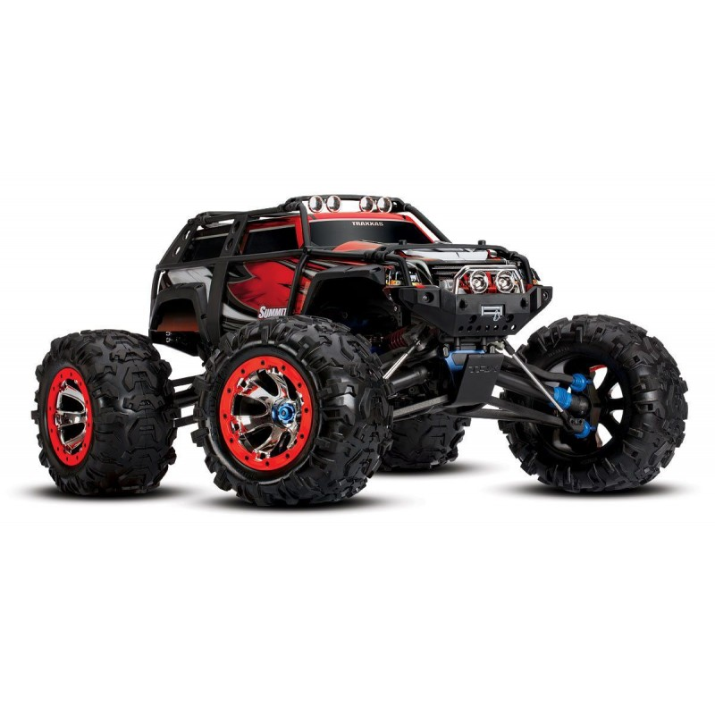 Traxxas Summit 1/10 4WD Electric Monster Truck RTR TQi 2.4GHz Radio TRA56076-4