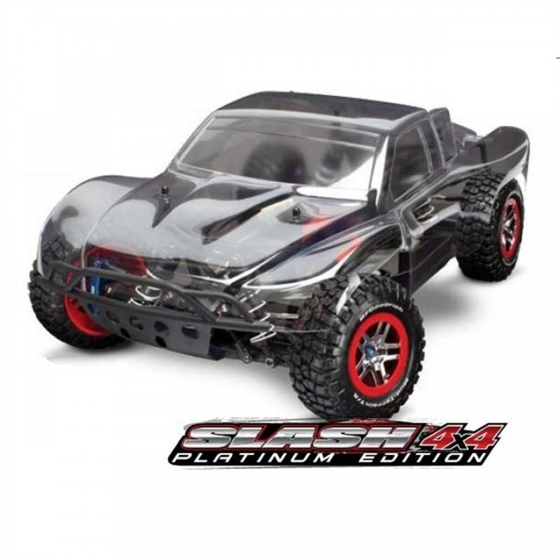 Traxxas Slash 4X4 Platinum 1/10 Electric 4WD Short Course Truck TRA6804R