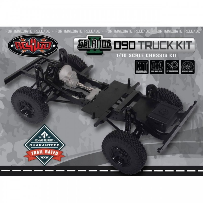 RC4WD Gelande II D90 Truck Kit 1/10 Chassis Kit RC4Z-K0060