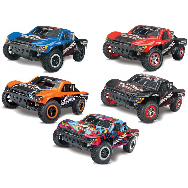 Traxxas 1/10 Nitro Slash 2WD SC RTR with TRX 3.3 TRA44056-3