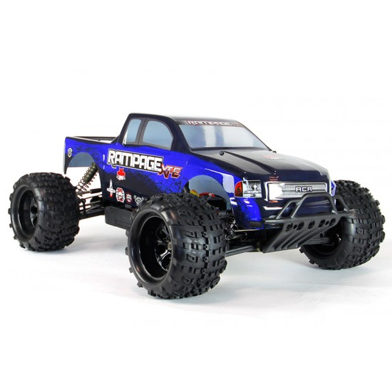 Redcat Racing Blue Rampage 1/5 XT-E Monster Truck REDRAMPAGE-XT-E