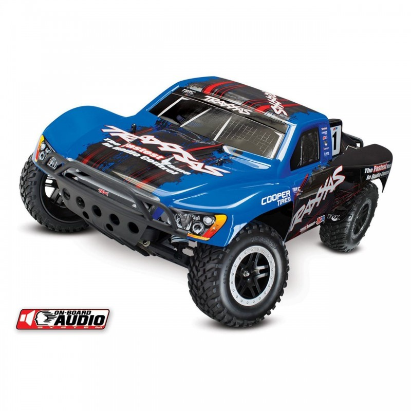 Traxxas Slash 2WD Short Course On Board Audio and ID Technology RTR TRA58034-2