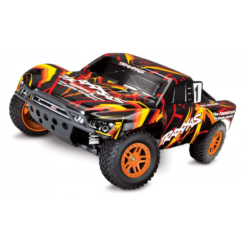 Traxxas Slash 4x4 1/10 4WD Short Course Truck w/TQ 2.4GHz Radio System TRA68054-4