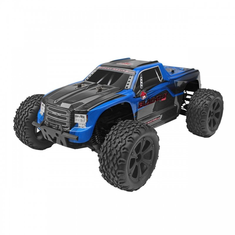 Redcat Racing Blackout XTE PRO 1/10 Scale Brushless Electric Monster Truck REDBLACKOUT-XTE-PRO-BLUETRUCK