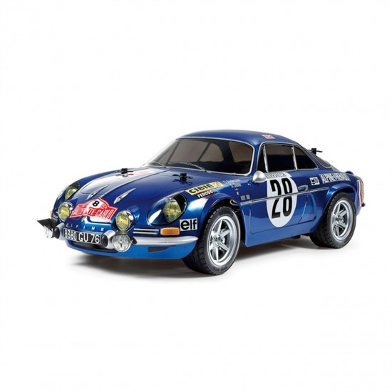 Tamiya Renault Alpine '71 Monte Carlo 1/10 2WD On-Road Car TAM58591