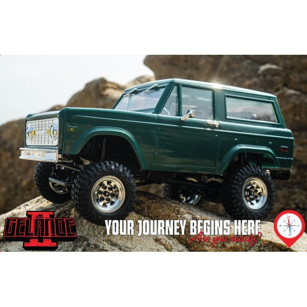 RC4WD 1/18 Gelande II RTR with BlackJack Body Set ...