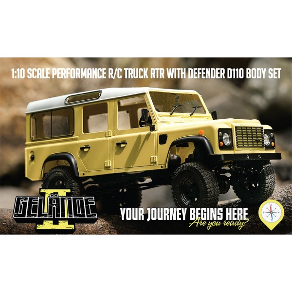 RC4WD Gelande II LWB RTR with D110 Body Set RC4Z-R...