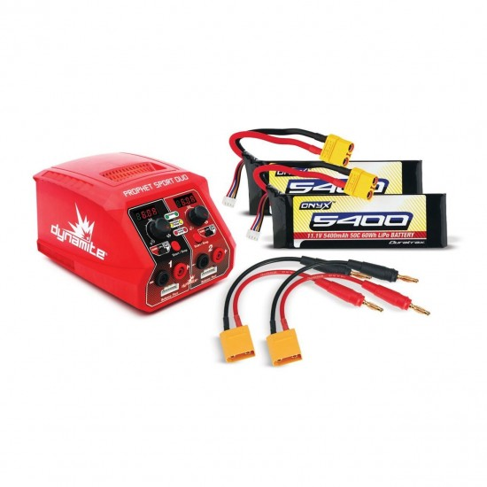 Dynamite Arrma 6S Battery/Charger Combo DYNC2025C