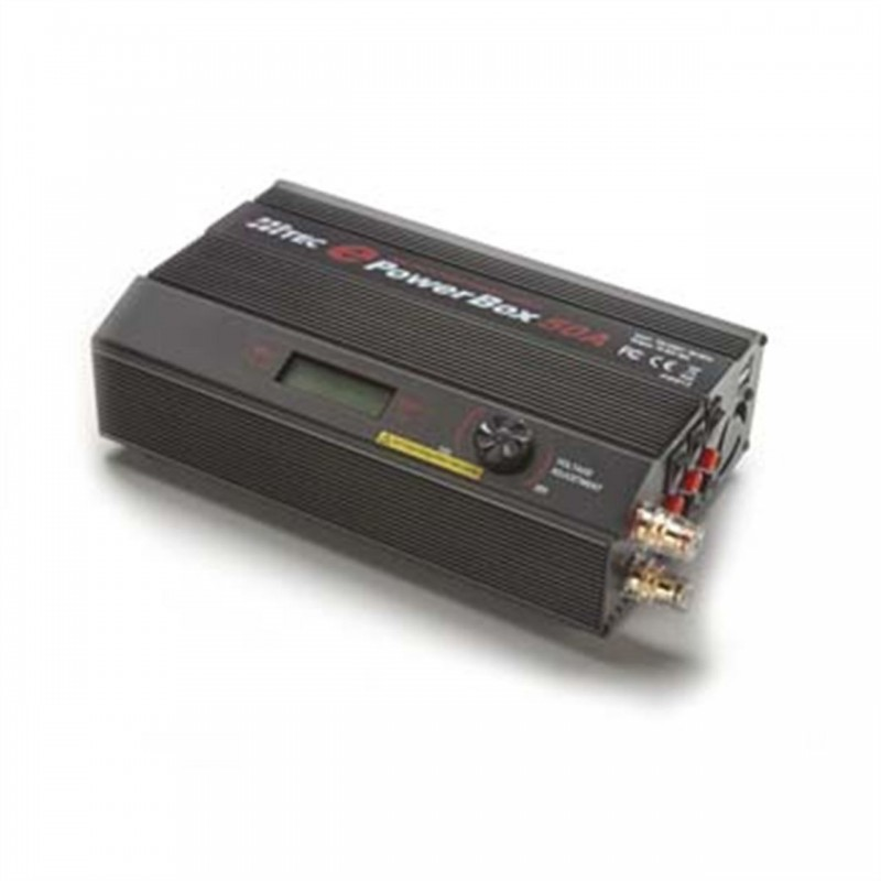 Hitec EPowerbox 50amp Switching Power Supply HRC44...