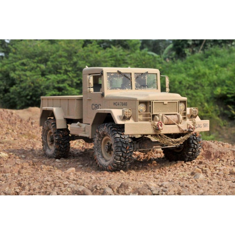 Cross RC HC4 1/10 4x4 Scale Off Road Military Truck Kit CZRHC4