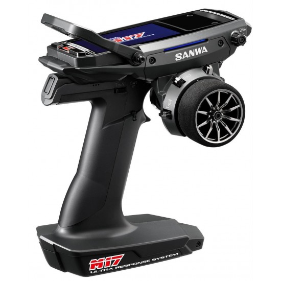 Sanwa M17 FH5 4-Ch 2.4GHz Radio System with RX-491 Rx SNW101A32461A