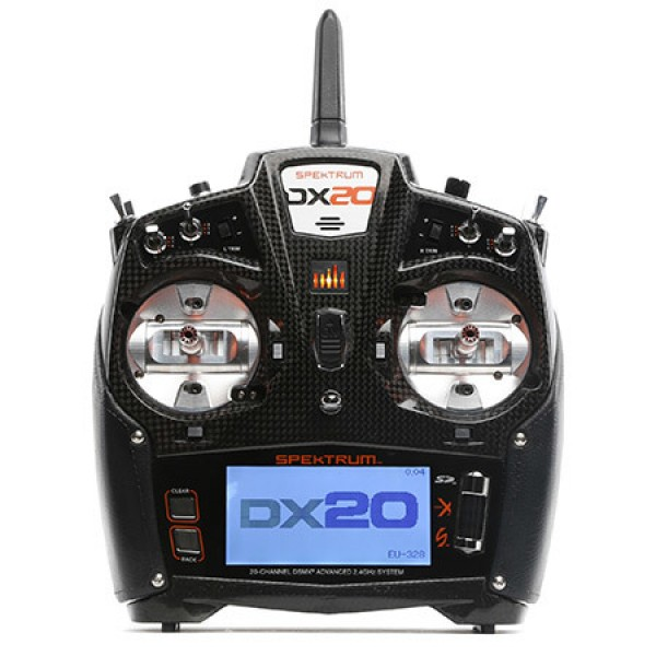 Spektrum DX20 20 CH System with AR9020 Mode 2 SPM2...