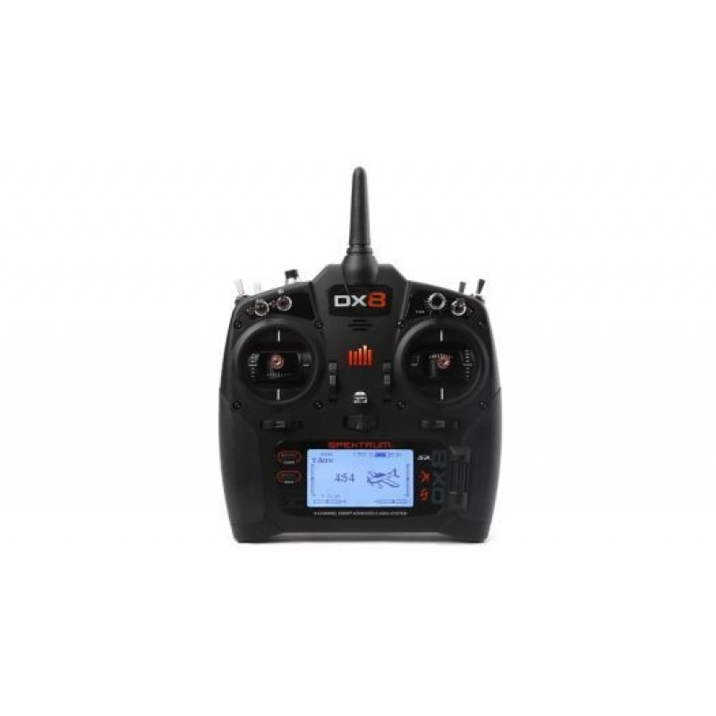 Spektrum DX8 G2 System with AR8010T Receiver Mode 2 SPM8015