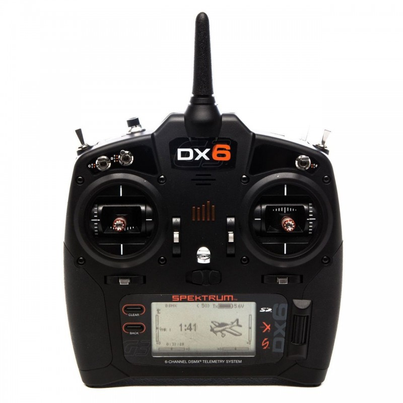 Spektrum DX6 6-Channel Transmitter Only Mode 2 SPMR6750