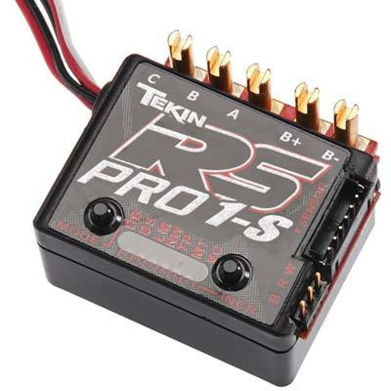 Tekin RS Pro 1S Black Edition BL Sensored/Sensorless ESC TEKTT1161