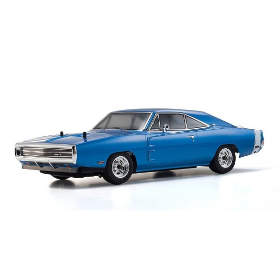 Kyosho 1970 Dodge Charger Blue KYO34052T1B
