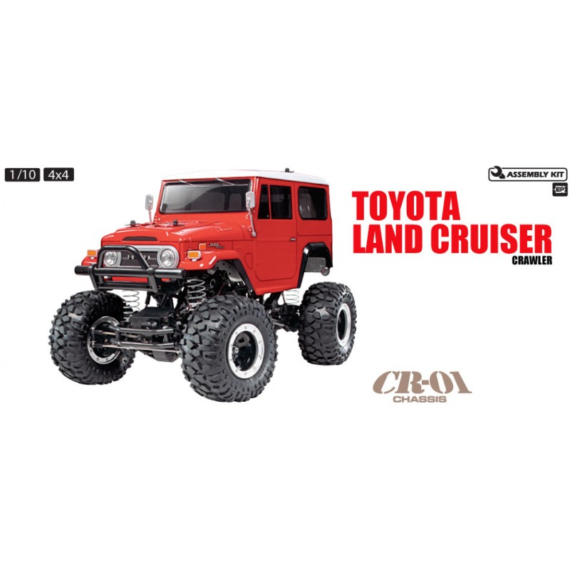 Tamiya 1/10 Land Cruiser 40 CR-01 Kit TAM58405