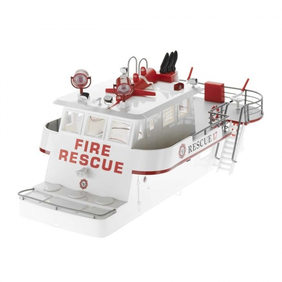 Aquacraft Cabin Super Structure LED Rescue 17 Fireboat Model AQUB6468