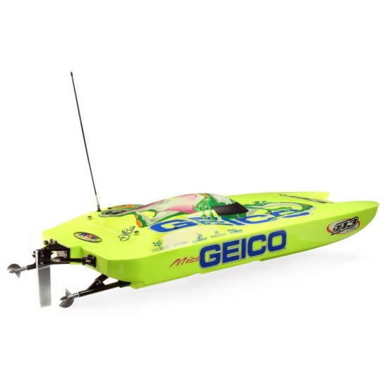 Pro Boat Miss GEICO Zelos 36 Twin Brushless Catamaran RTR PRB08040
