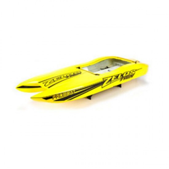 """Pro Boat Miss GEICO Zelos 36"""" Twin Hull w/ Decals PRB281085"""