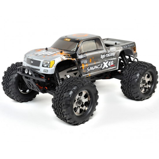 HPI Racing 1/8 Savage X 4.6 RTR Truck with 2.4GHz Transmitter HPI109083