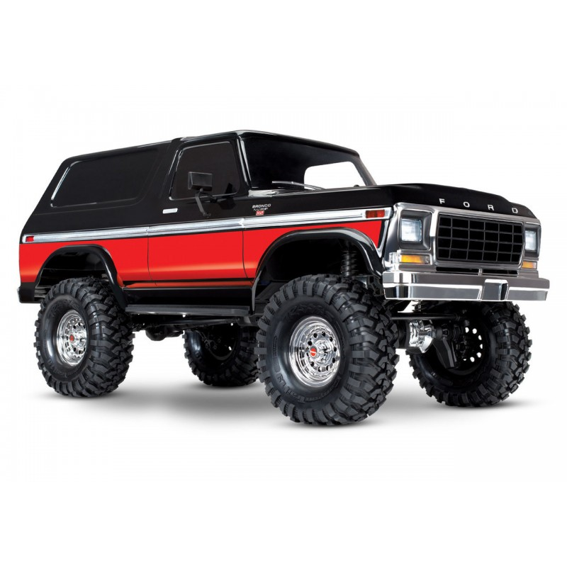 Traxxas Ford Bronco Truck with TQi 4WD RTR TRA82046-4