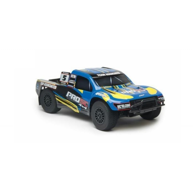 Associated ProSC 4x4 1/10th Scale Electric Truck LiPo Combo RTR ASC7063C