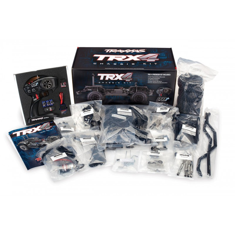 Traxxas TRX-4 Assembly Kit 4WD Chassis with TQi TRA82016-4