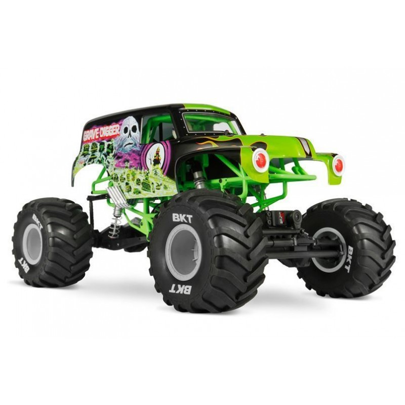 Axial SMT10 Grave Digger Monster Jam Truck 1/10 4WD AXIAX90055