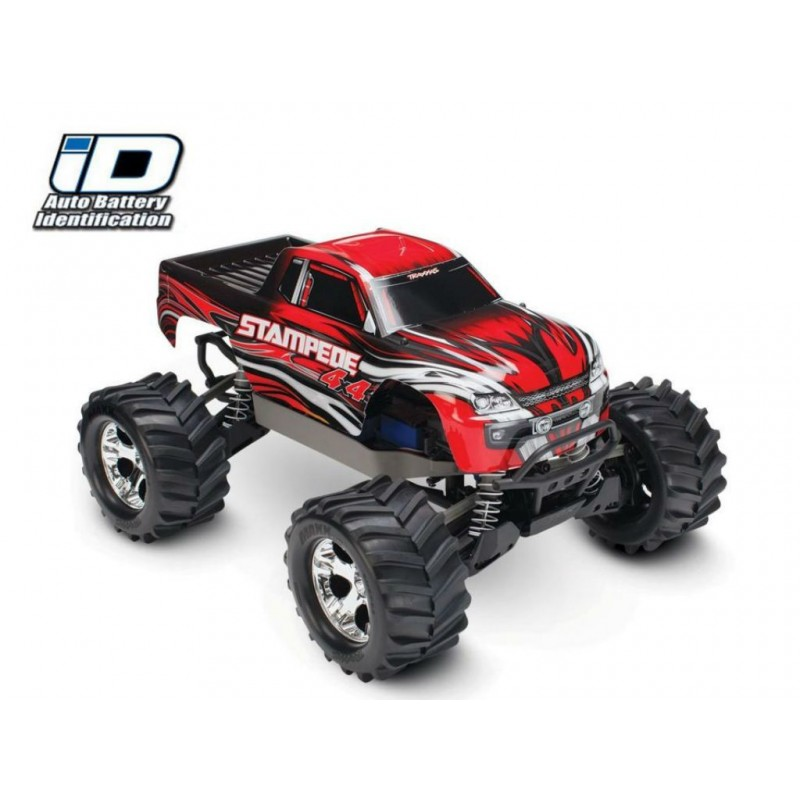 Traxxas Stampede 4x4 Monster Truck RTR with ID Technology TRA67054-1
