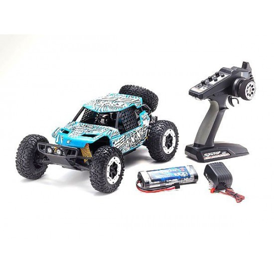 Kyosho 1/10 EP 2WD Ez-B R/S Axe T6 Green KYO34401T6B