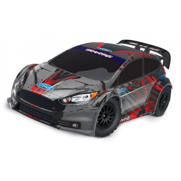 Traxxas 1/10 Ford Fiesta ST Rally RTR with TQ 2.4G...