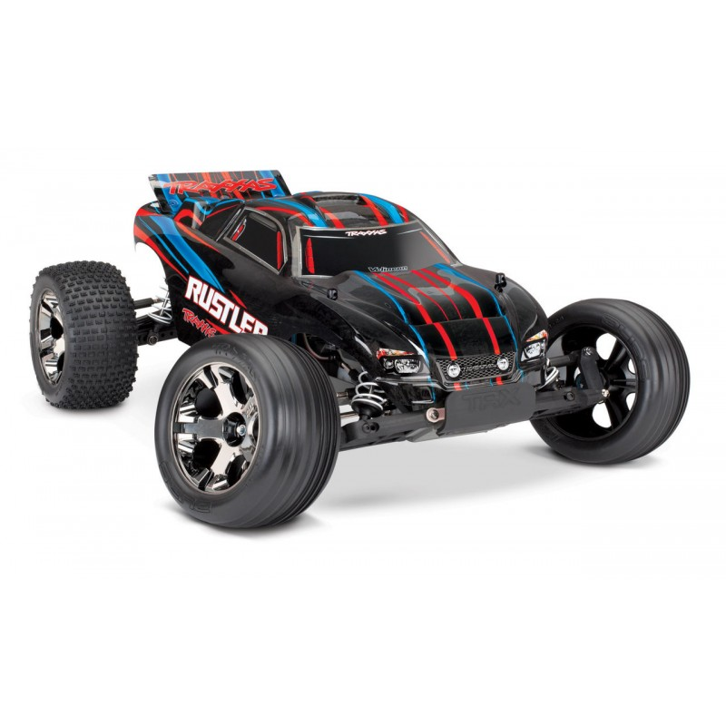 Traxxas Rustler VXL with iD and TSM Technology TRA37076-4
