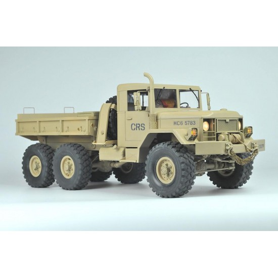 Cross RC HC6 1/10 6x6 Scale Off Road Military Truck Kit CZRHC6