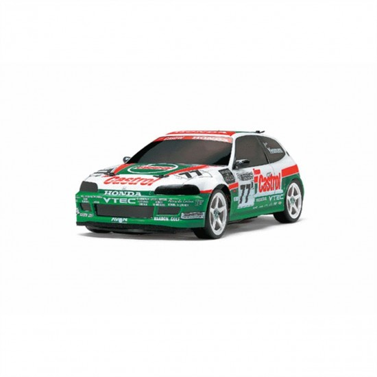 Tamiya Castrol Honda CIVIC Vti 1/10 On-Road Car Kit FF03 TAM58467