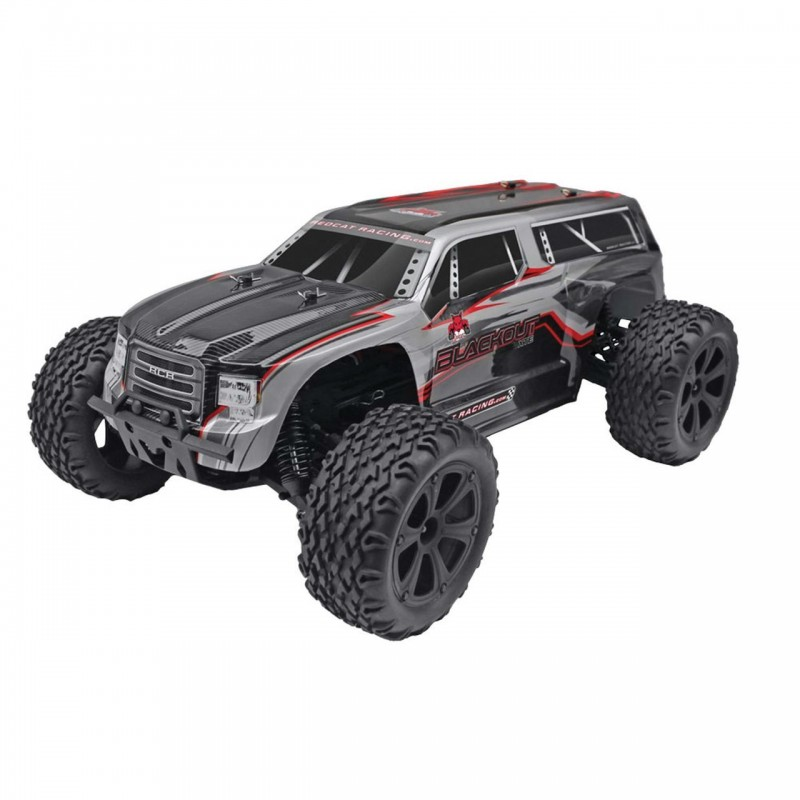 Redcat Racing Blackout XTE PRO 1/10 Scale Brushless Electric Monster Truck REDBLACKOUT-XTE-PRO-SILVERSUV