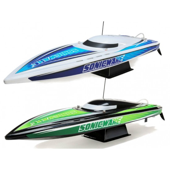 """Pro Boat 36"""" Sonicwake Self-Right Deep-V Brushless RTR Boat PRB08032"""
