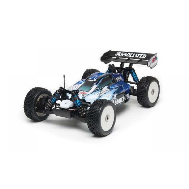 Associated RC8.2e RTR LiPo Combo with Shock Kit Upgrade ASC80908C