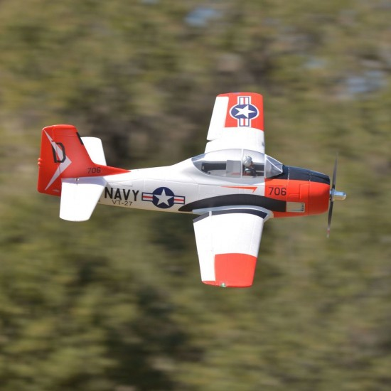FMS T-28D V4 PNP Red 1400mm FMM083PRED