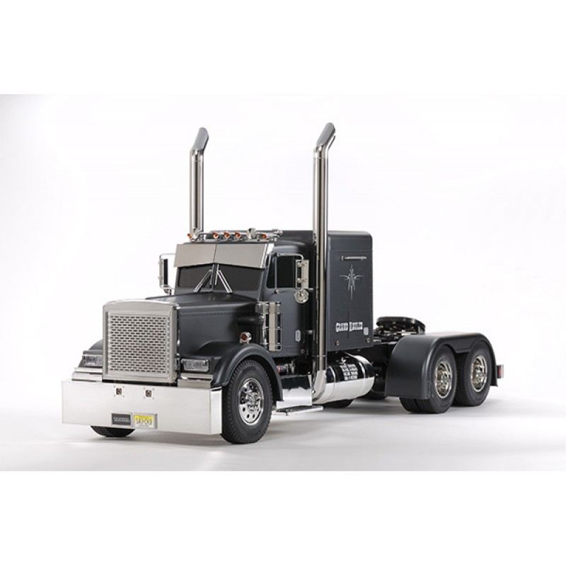 Tamiya 1/14 Grand Hauler Matte Black Edition TAM56...