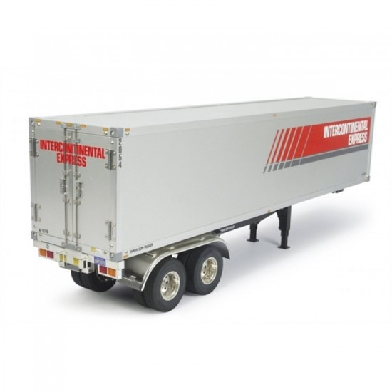 Tamiya 1/14 Semi Box Trailer Kit TAM56302