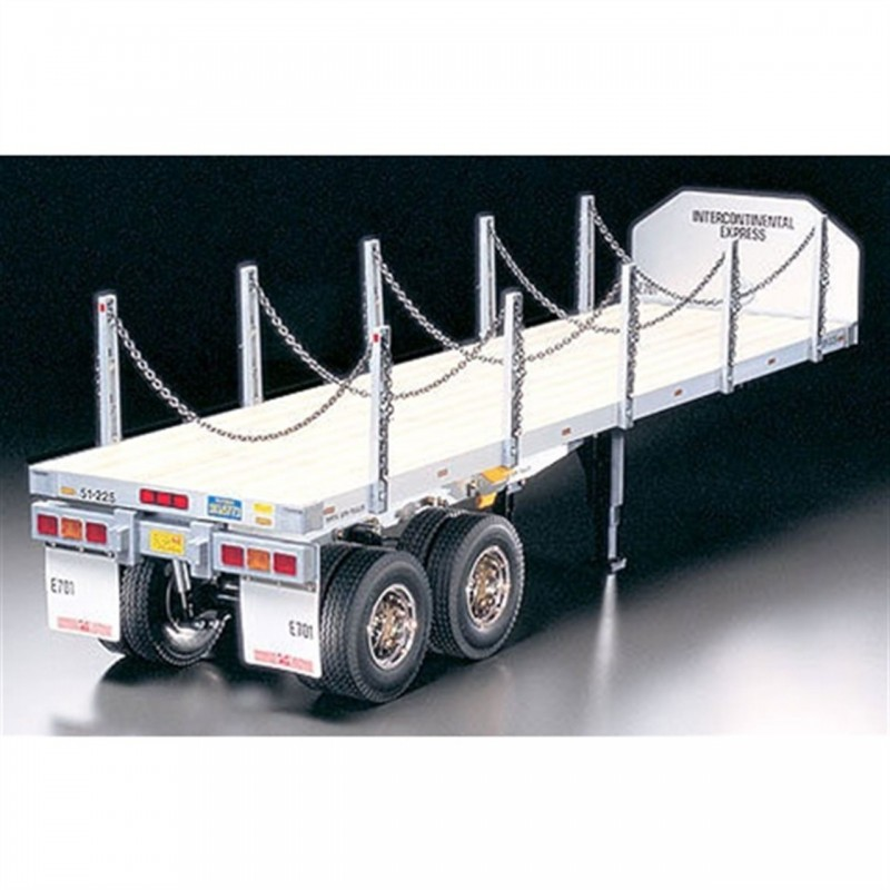 Tamiya 1/14 Flatbed Semi Trailer Kit TAM56306