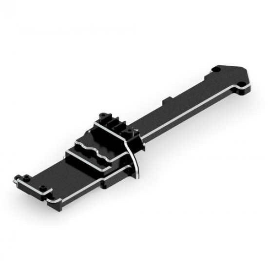 Redcat Racing Machined Aluminum Central Linkage Plate RED510164BK