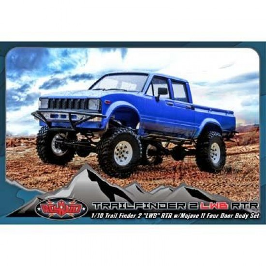 RC4WD Trail Finder 2 LWB RTR with Mojave II Four Door RC4Z-RTR0030