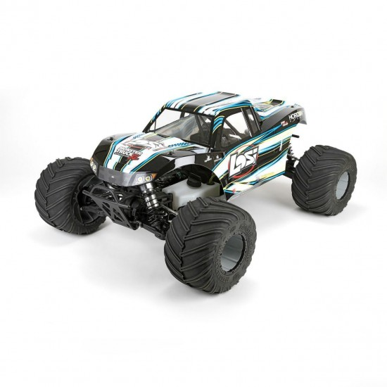 Losi Monster Truck XL 1/5 4WD RTR in Black LOS05009T1