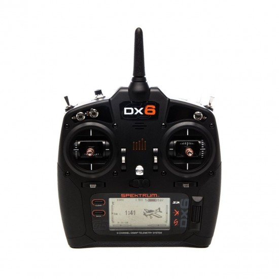 Spektrum DX6 G3 6-CH DSMX Transmitter with AR6600T RX MD2 SPM6755