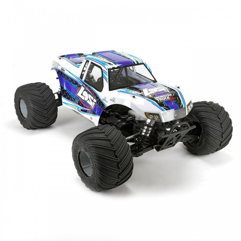 Losi Monster Truck XL 1/5 4WD RTR in White LOS05009T2